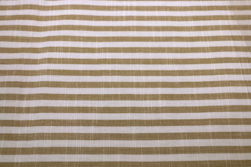 Au Natural striped fabric detail