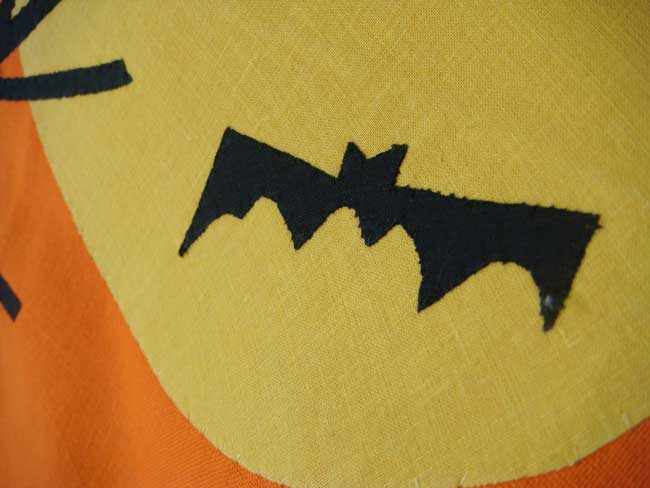 Halloween Night Vintage Dishtowel, by Tag