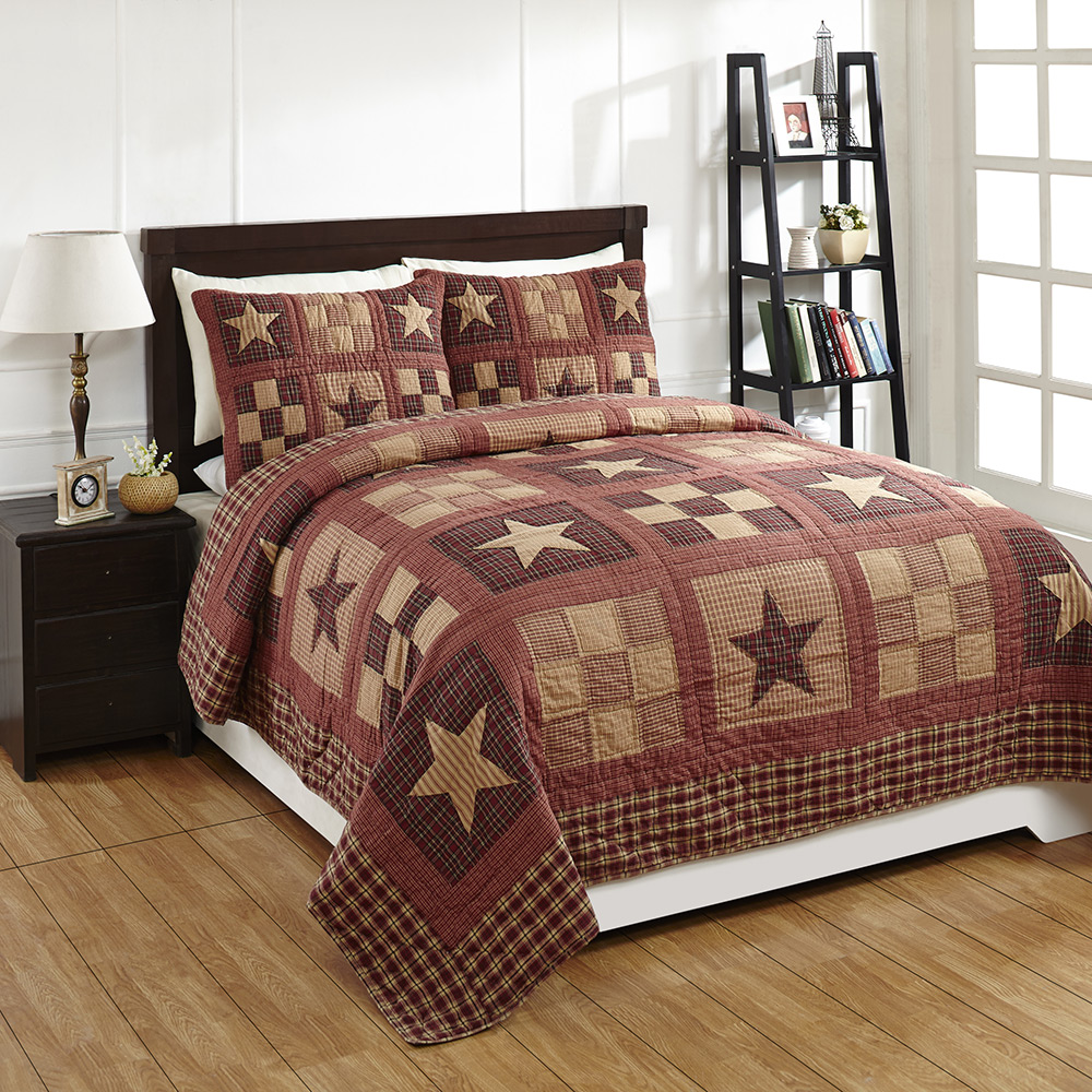 Bradford Star Quilt Set, by Olivia's Heartland