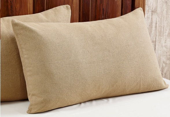 Standard Size Deluxe Burlap Sham, by Olivia's Heartland