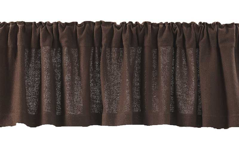 Image Result For Burlap Kitchen Valance