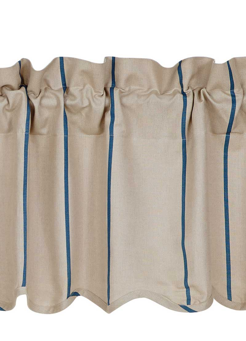 Charlotte Azure Fabric, by VHC Brands