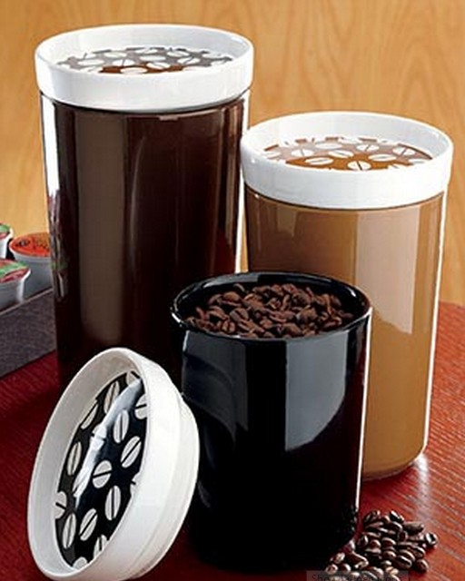 coffee themed kitchen canisters - 28 images - coffee theme