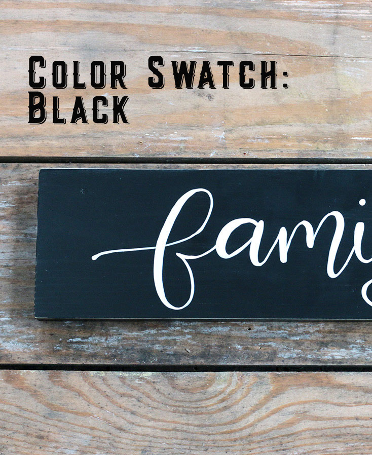 Color Swatch - Black