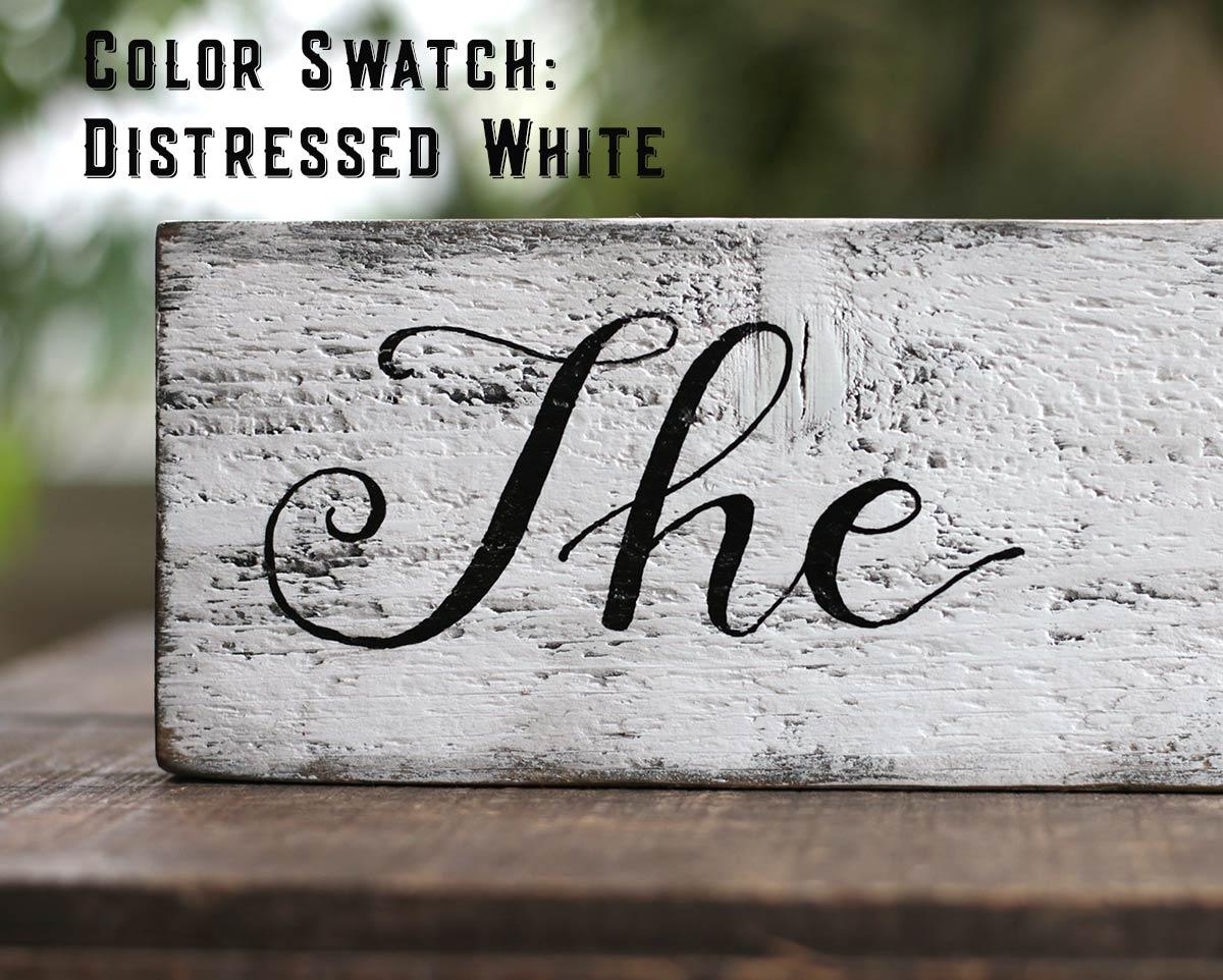 Color Option - White