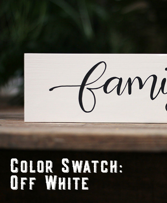 Color Option - Off White