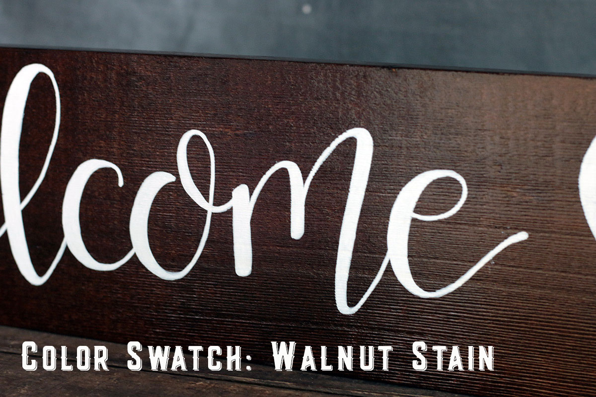 Color Option - Walnut Stain