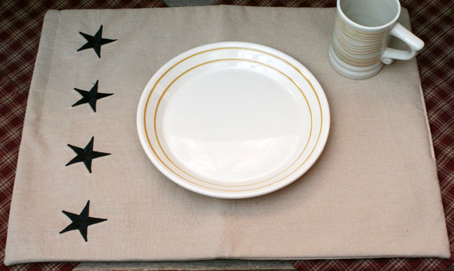 Danville Star Placemat, by Raghu