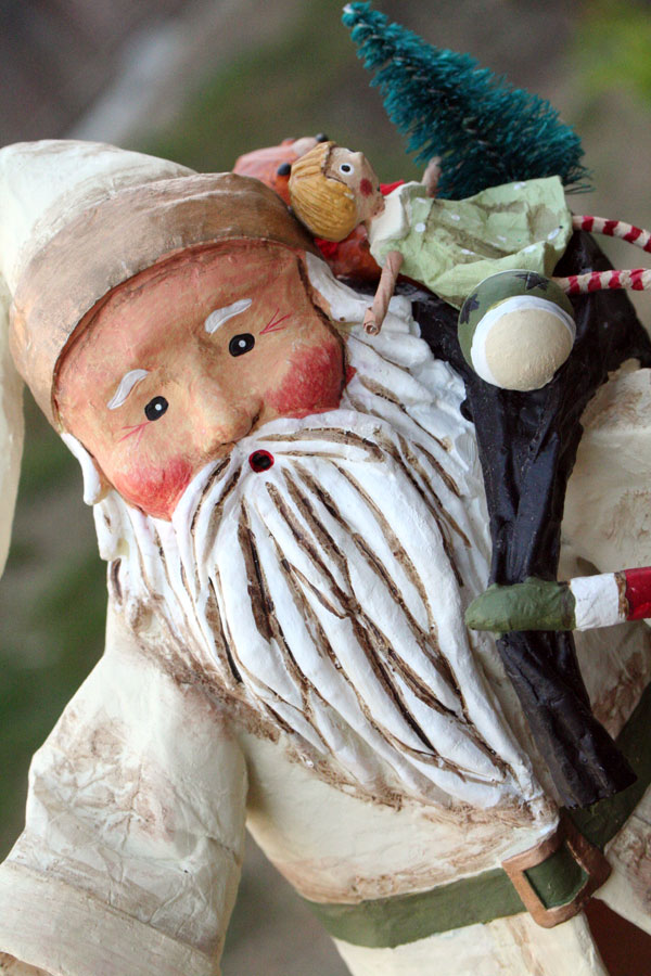 White Old Father Christmas, by Lori Mitchell