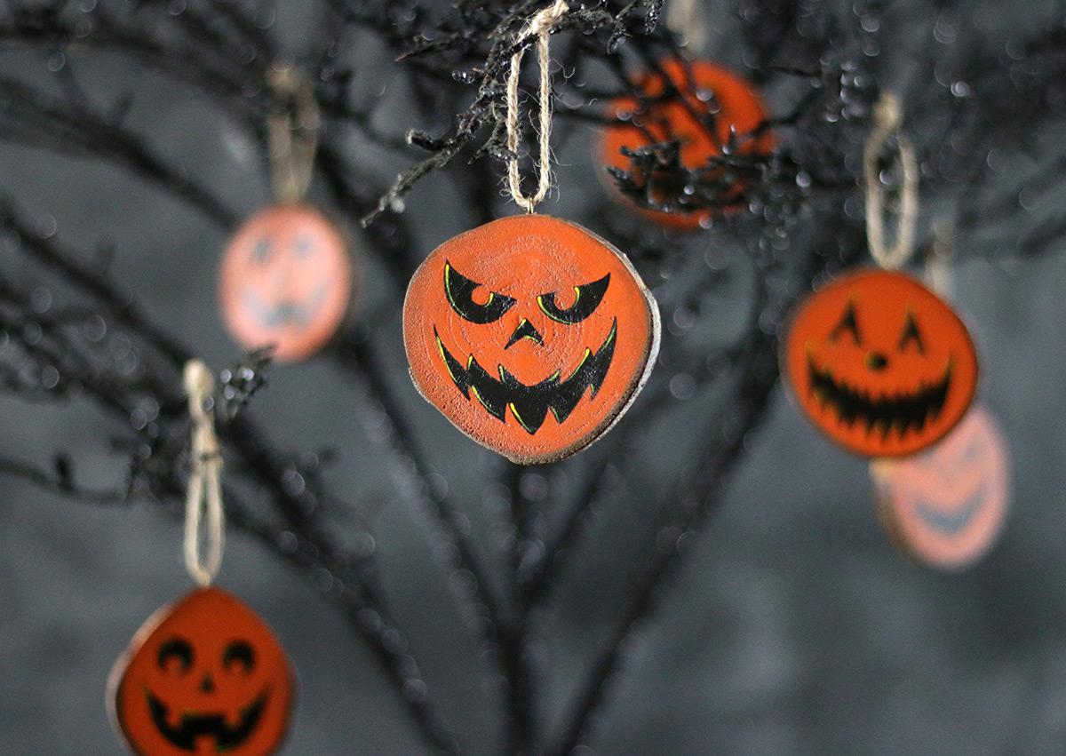 Jack o'Lantern Ornaments