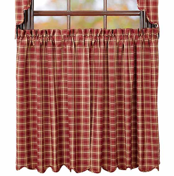 Curtains Ideas 36 inch cafe curtains : Kendrick 24 inch Tiers, by Nancy's Nook. - The Weed Patch