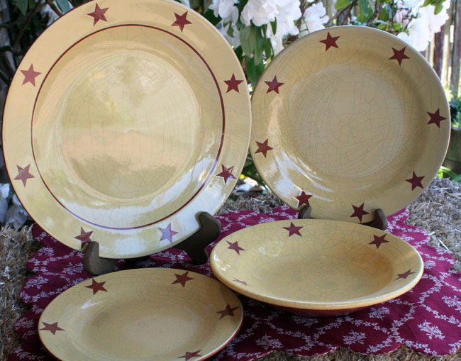 Redware Dinner Plate