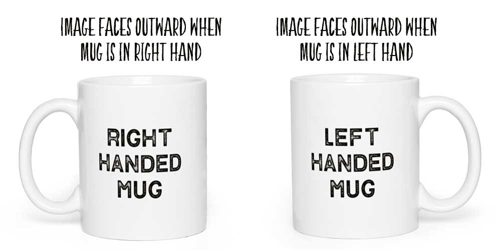 Right or Left Handed Mug