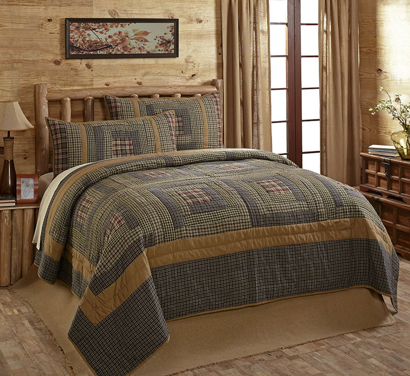 Merrick Quilt Set, by Olivia's Heartland - The Weed Patch : country quilt set - Adamdwight.com