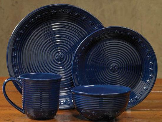 Star Dinnerware by Park Designs & Star Dinnerware - Dinner Plate - The Weed Patch