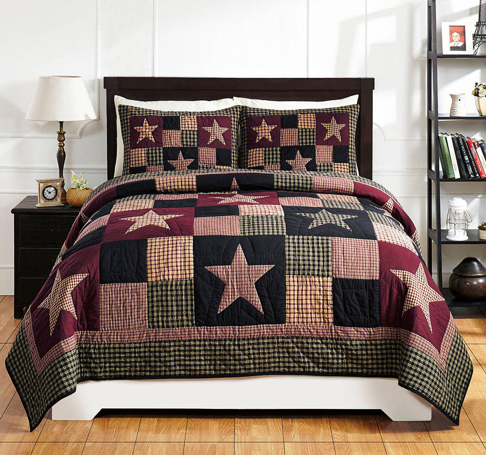 Plum Creek Quilt Set, by Olivia's Heartland