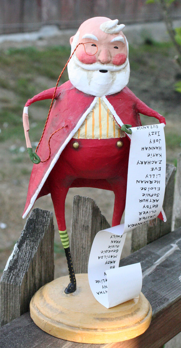 Santa\'s List, by Lori Mitchell