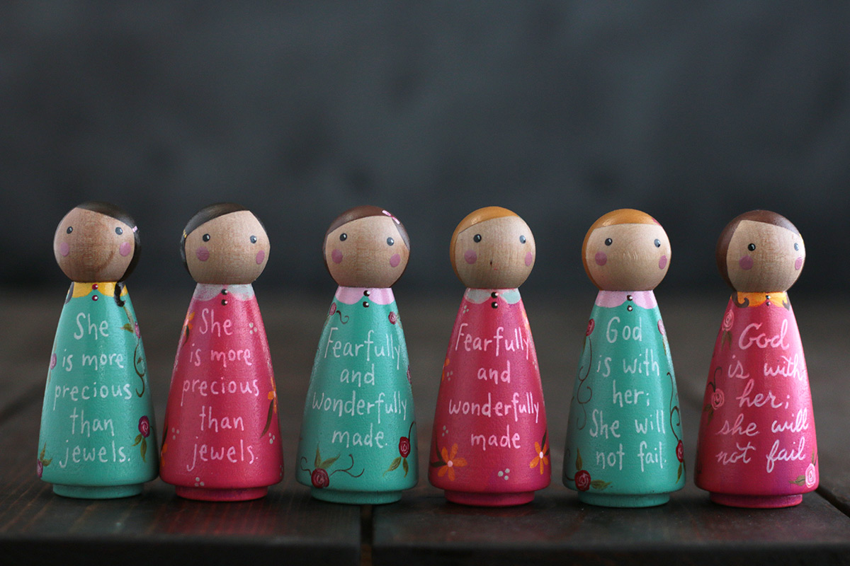 Scripture Peg Dolls