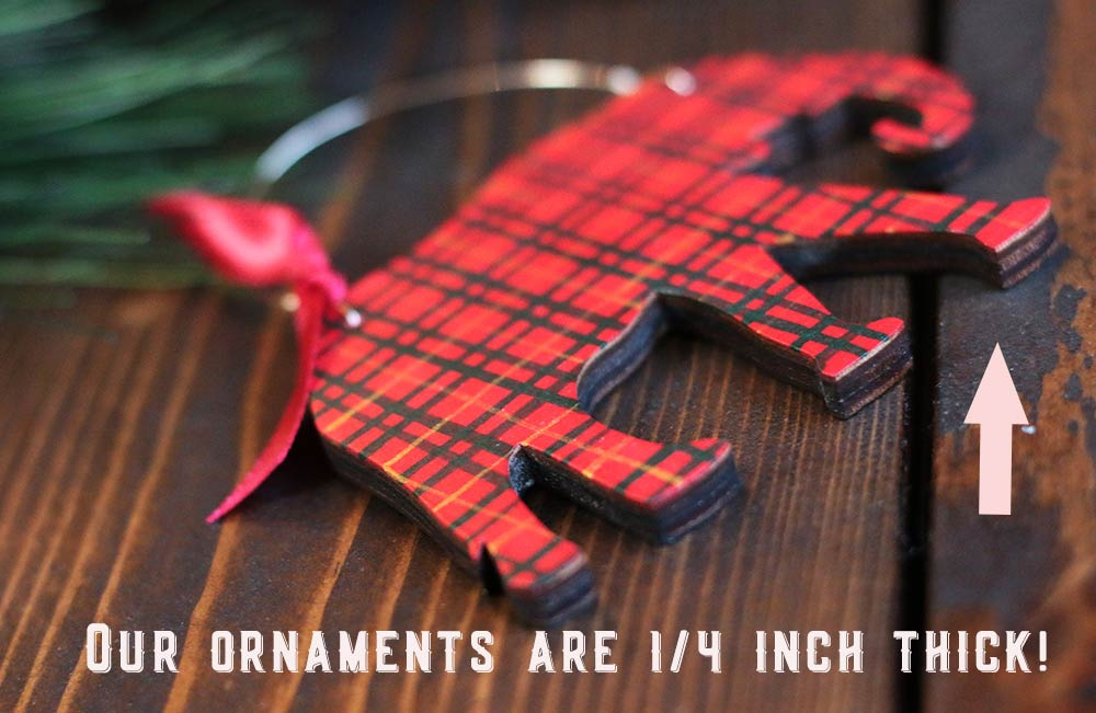 Thickness of Ornaments