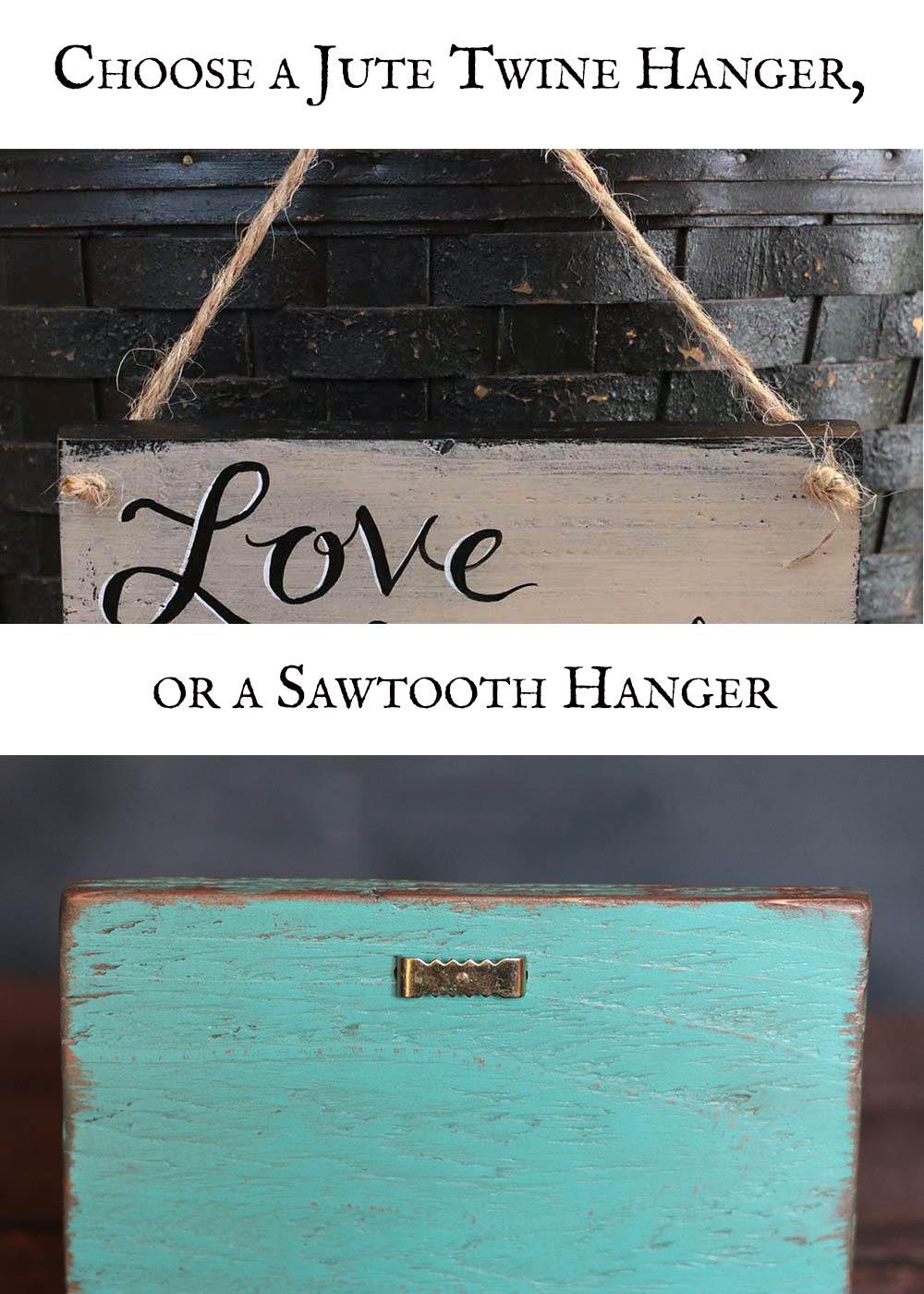 Choose your hanger type