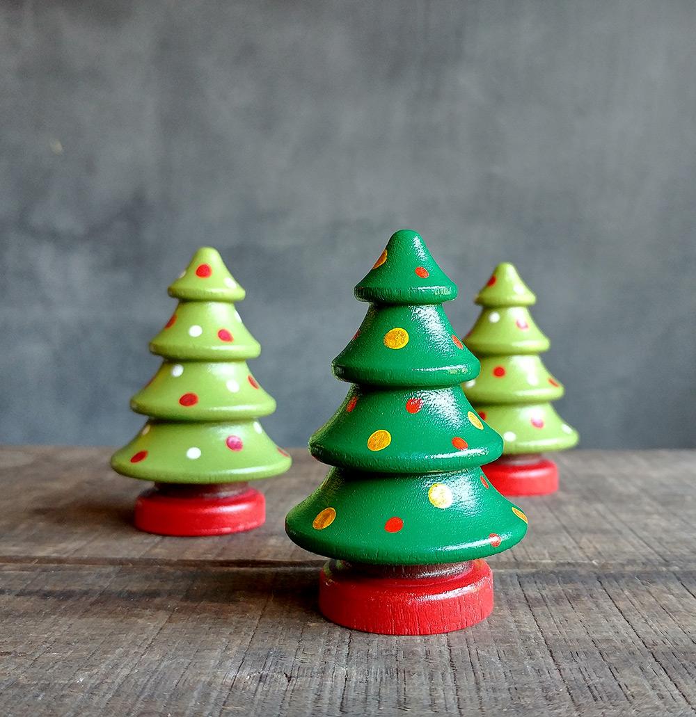 Christmas Tree Figurines