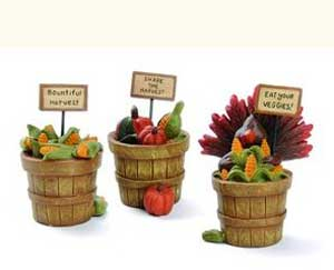 Thanksgiving Harvest Bushel