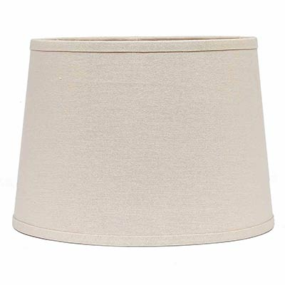 10 inch buttermilk drum lamp shade by raghu the weed patch. Black Bedroom Furniture Sets. Home Design Ideas
