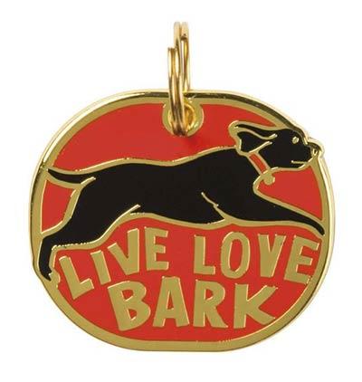 Live Laugh Bark Pet Charm