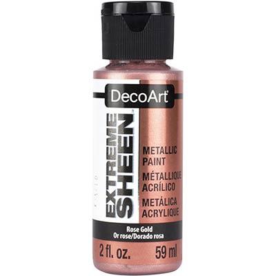 DecoArt Extreme Sheen Metallic Paint - Rose Gold