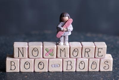 No More Boo Boos Blocks
