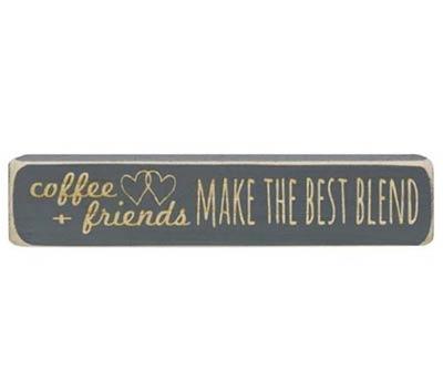 Coffee + Friends Shelf Sitter