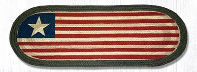 Original Flag Braided Jute Table Runner - 36 inch
