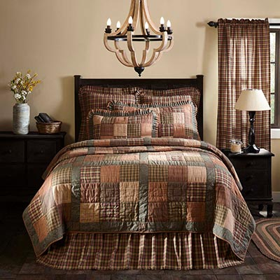 Crosswoods Twin Quilt