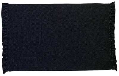Casual Classics Placemat - Black (extra long)