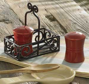 Casual Classics Salt & Pepper Set - Bisque