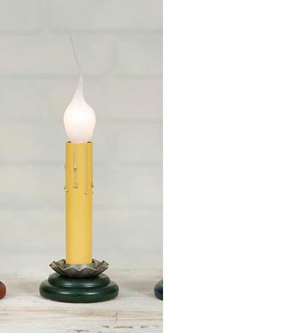 Green Charming Light Candle Lamp - 4 inch