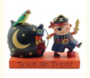 Trick or Treat Pirate boy