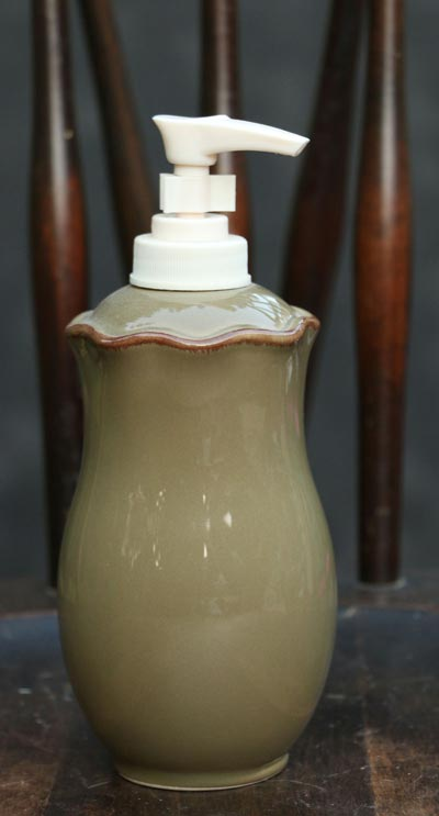 Village Dinnerware - Dispenser (Olive)