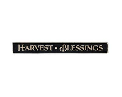 Harvest Blessings Shelf Sitter