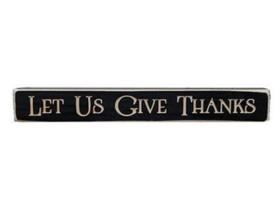 Give Thanks Shelf Sitter
