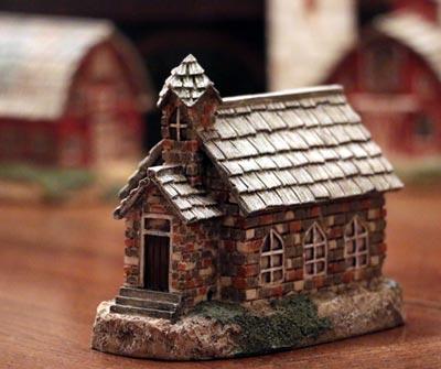 Primitive Town - Brick Church