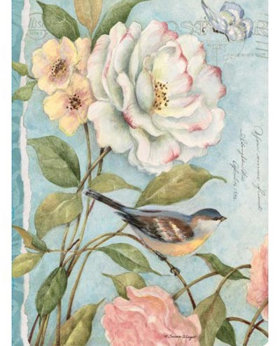 Cottage Bird Deluxe Journal