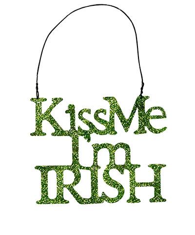 Kiss Me, I'm Irish Ornament