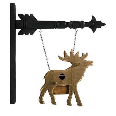 Moose Birdhouse Arrow Replacement