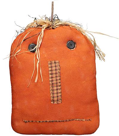 Stuffed Jack-o-Lantern