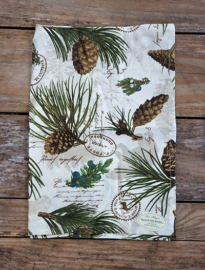 Walk in the Woods Dishtowel
