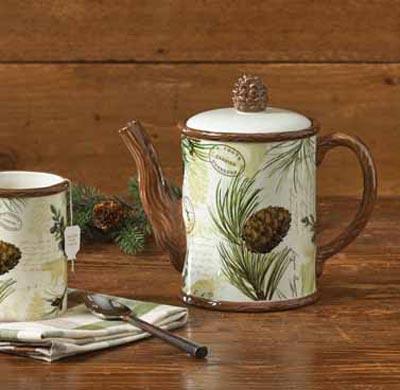 Walk in the Woods Teapot