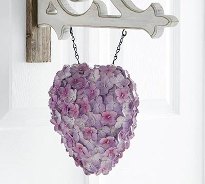 Purple Hydrangea Heart Arrow Replacement
