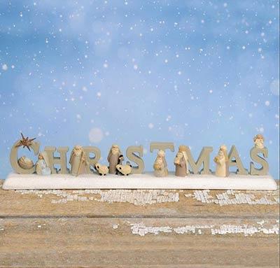Christmas Nativity Figurine