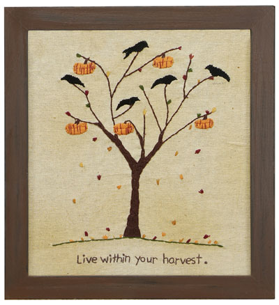 Live Within Your Harvest Stitchery